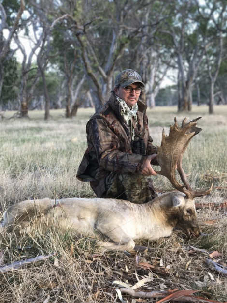 This buck was a well earnt trophy
