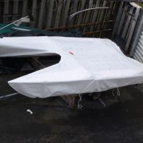 Fitted dinghy-class covers