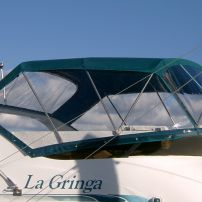 Launch canopies, yacht dodgers