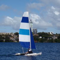 Dinghy and catamaran sails