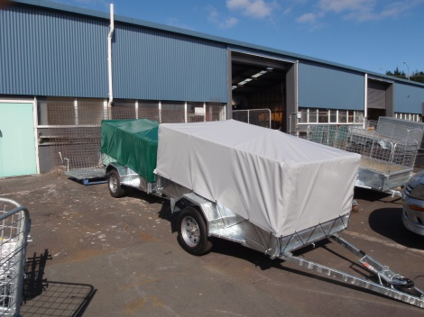 Cage trailer covers, any size