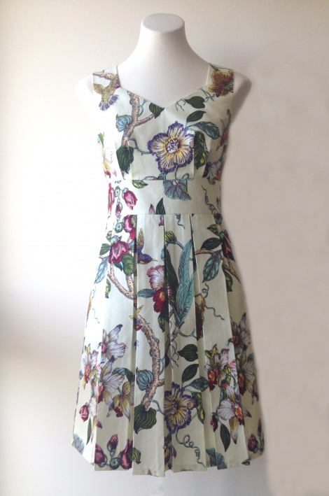 Edith Dress Hummingbird