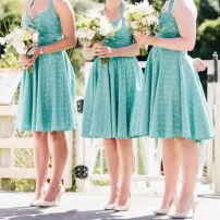 Custom Made Bridesmaids Dresses