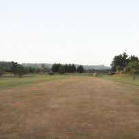 Looking towards 1st/10th green from 135M.