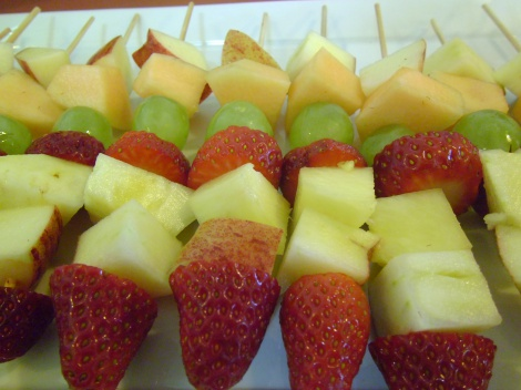 A Fresh Treat -  Fruit Kebabs