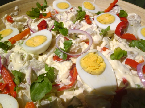 Potato & Sour Cream Salad