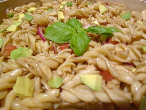 Pasta Salad with Avocado