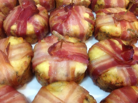 Brunch Cakes - Bacon or Vegetable