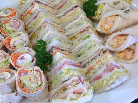 Large - Assorted Sammie Platter 50 pieces