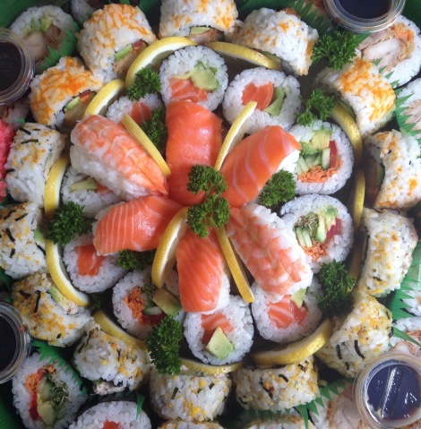 Sushi canapes - Platter