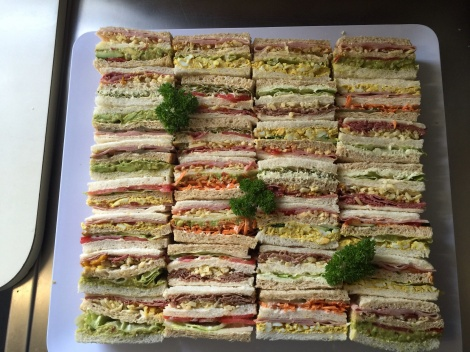 Large Club Sandwiches