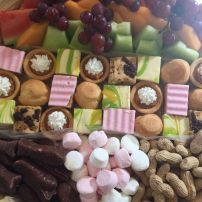 Sweet, Fruit and Nibbles Platter