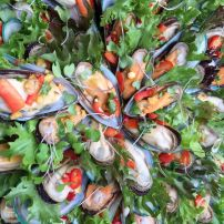 Mussels - Thai Style