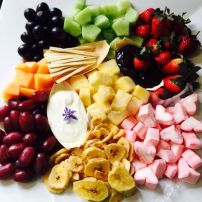 Fruit Dipping Plate