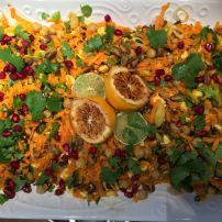 Moroccan Carrot and Feta Salad