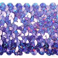 5 row stretch sequin trim