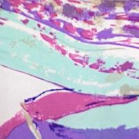 Abstract pastel strokes