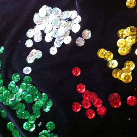12mm Lazer Cupped Sequins