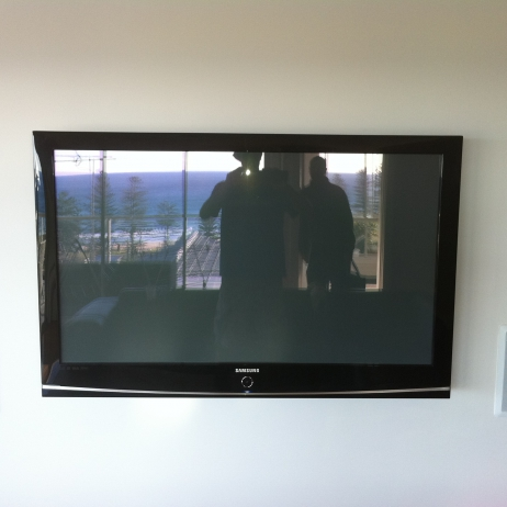 In Wall Speakers & TV Install