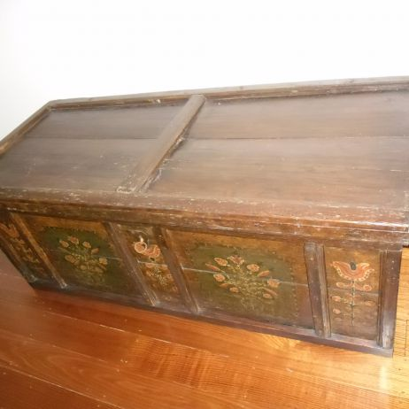Antique Marriage Chest