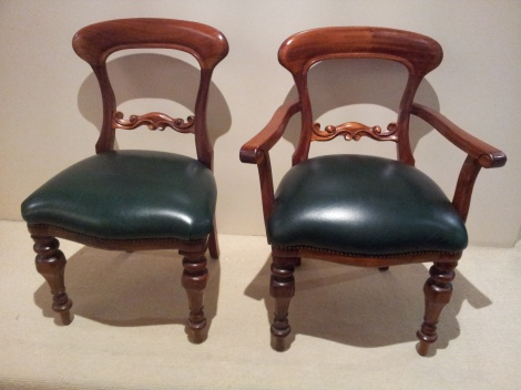 Rail-Back Chairs