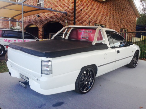 Our ute
