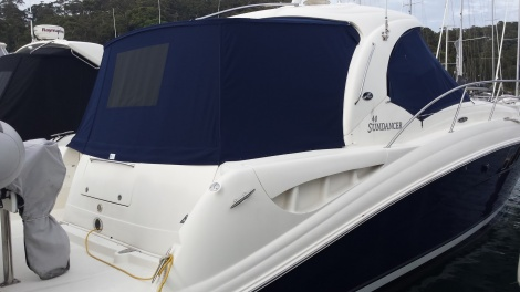Sea Ray Aft Enclosure