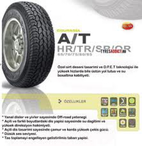Federal Couragia A/T 4wd Tyre