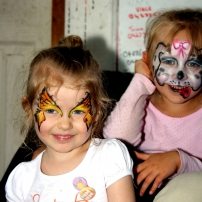 Face painting fun!!
