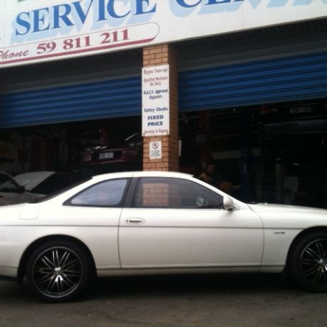 Advanit Desire on Toyota Soarer!!