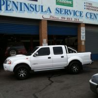 Navara Rolling on Federal shod wheels!!