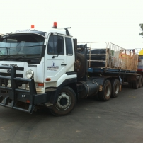 prime mover and b double combination