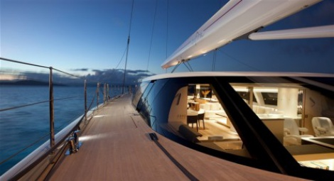Marine - Super Yacht Interior - Leather Upholstery