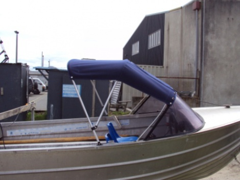 Marine - Trailer Boat - Canvas Canopy
