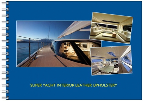 Marine Upholstery - Super Yacht Interior Leather Upholstery