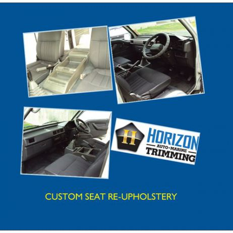 Auto Upholstery - Custom Seat Re-Upholstery