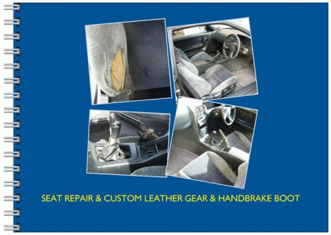Auto Upholstery - Seat Repair & Custom Leather Gear & Handbrake Boot