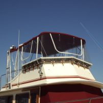 Marine Upholstery - Canopy, Clear Side Curtains