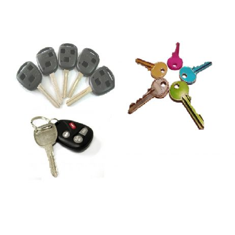 Key cutting ,Transponder Key