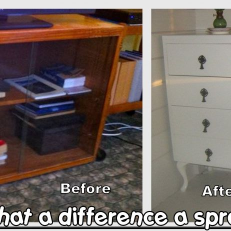 Cabinet - Before & After