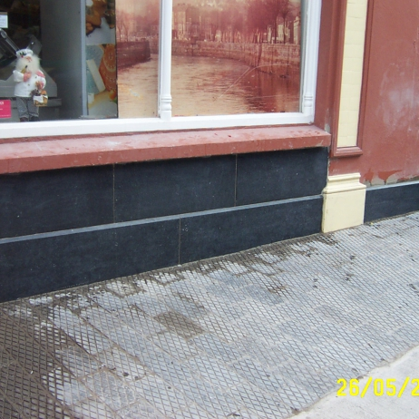 cladding and paving
