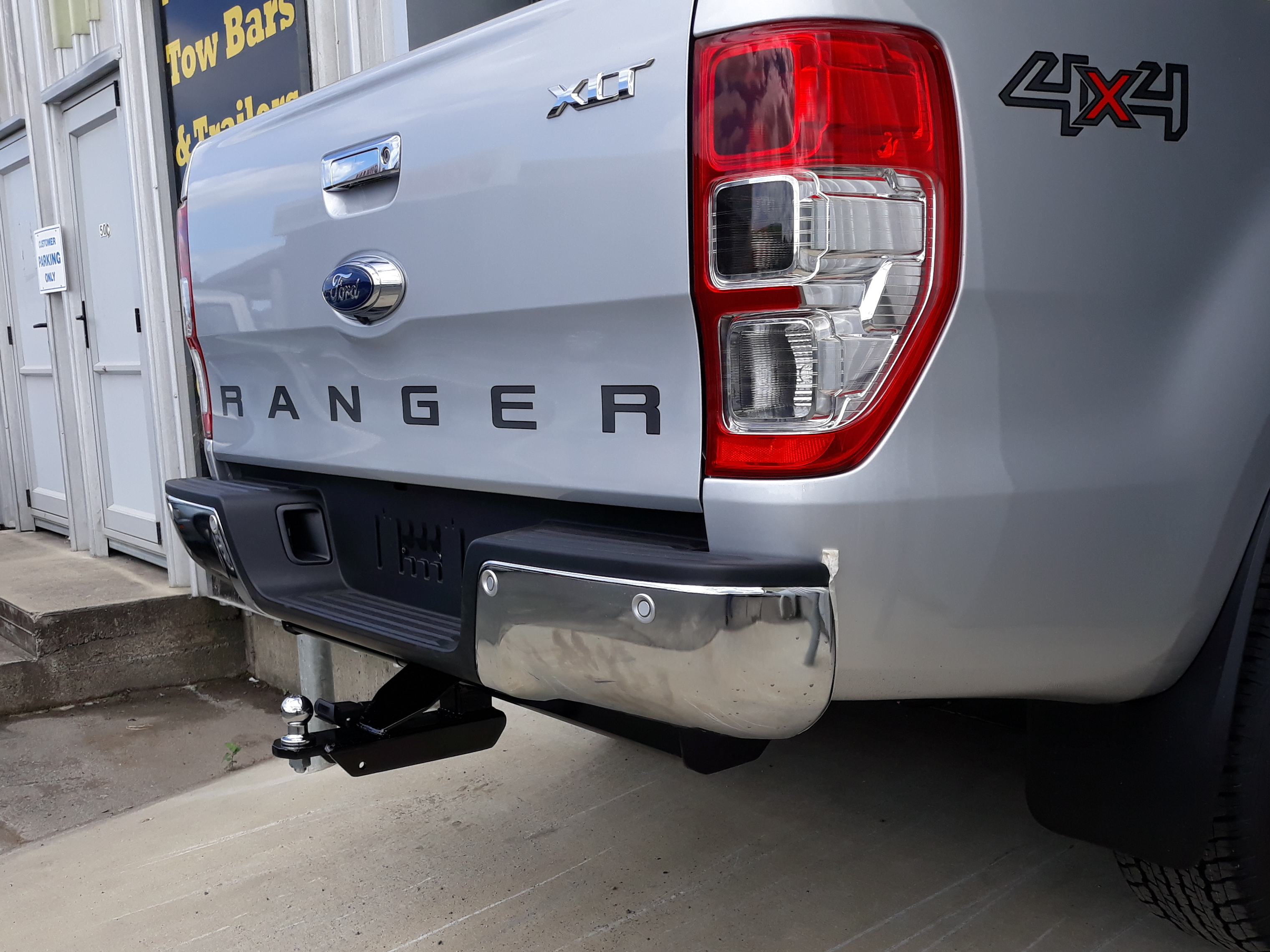 Ford Ranger 1 Professional Tow Bars Trailers Pro Bars And Trailers Limited