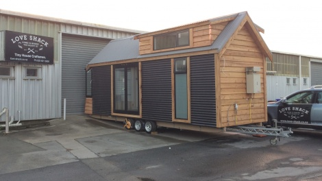 Love-Shack Tiny House Trailer