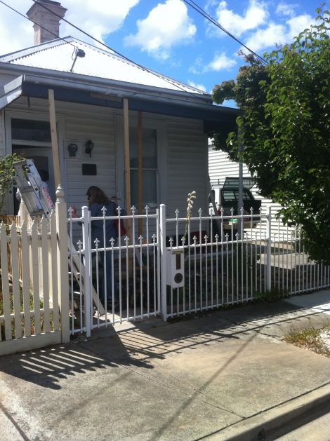 Verandah post replacement and new front deck