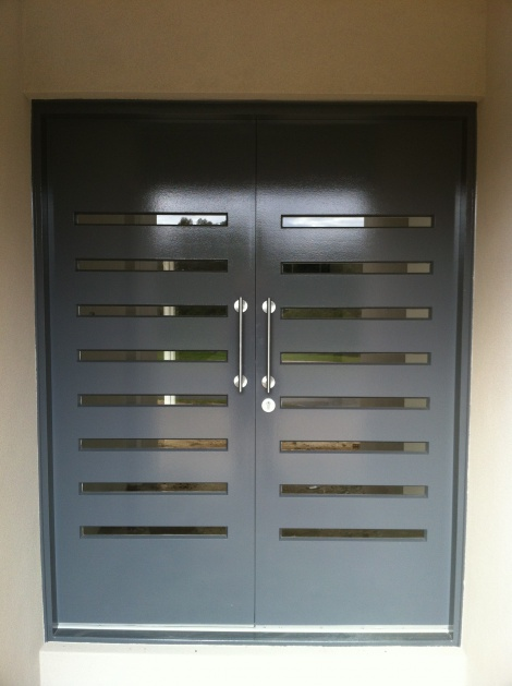New Entrance Doors