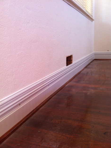 Colonial skirting installation