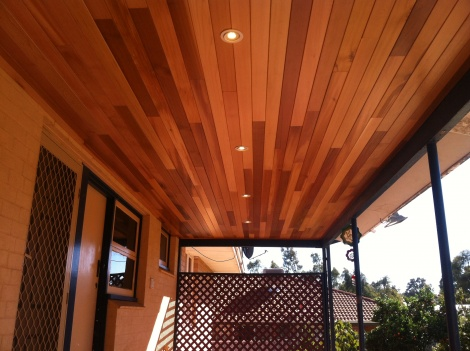 Western Red Cedar Lining Boards
