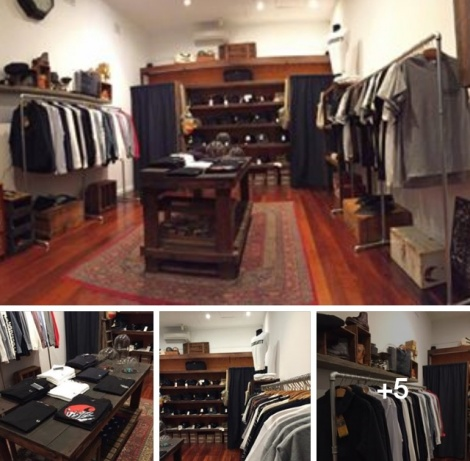 Elroy Clothing Store Fit out