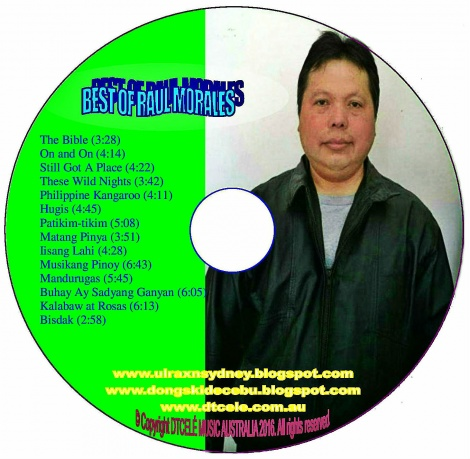 BEST OF RAUL MORALES (Inside CD)