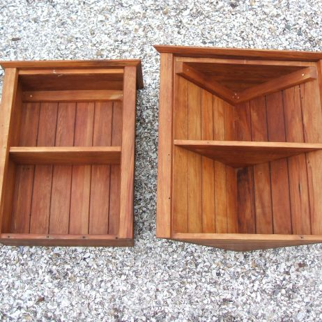 Recycled rimu kitchen cabinets - Oct 2014 - 'After'